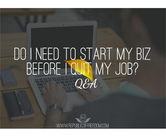 start business