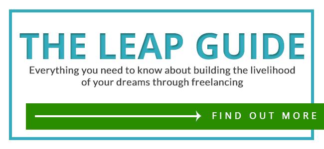 The LEAP Guide | www.theleapguidetofreelance.com