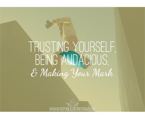 trusting yourself and overcoming Resistance