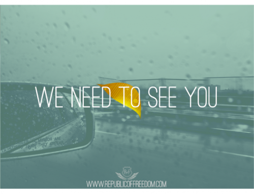 We need to see you