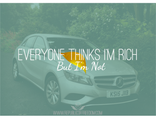 Everyone thinks I'm rich, but I'm not