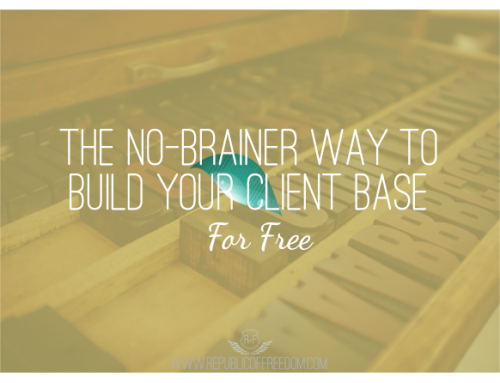 The no-brainer way to build your client base for free