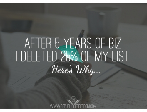 After 5 years building a mailing list, I deleted 25% of my subscribers – here's why