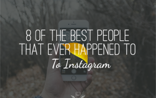 8 of the best people Instagram