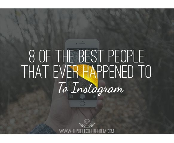 Eight of the best people that ever happened to instagram
