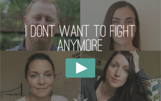 I Don't Want To Fight Anymore Video