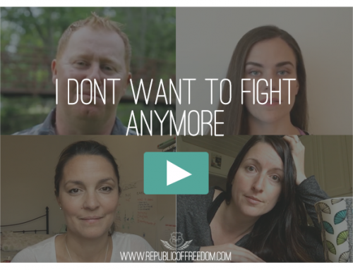I Don't Want To Fight Anymore – Video