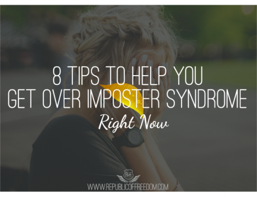 Eight tips to help you get over Imposter Syndrome right now