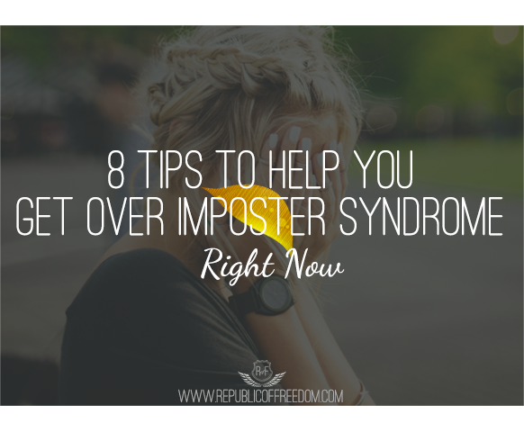 8 tips to get over imposter syndrome