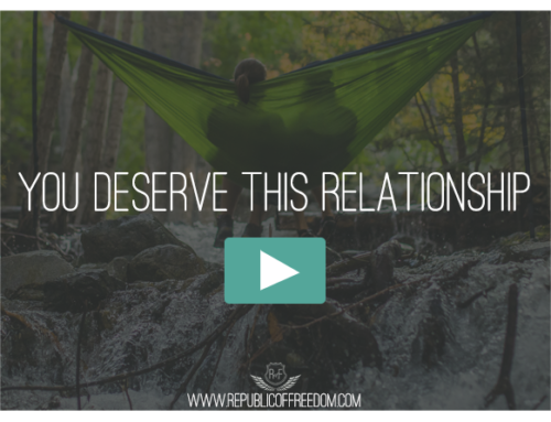 You Deserve This Relationship