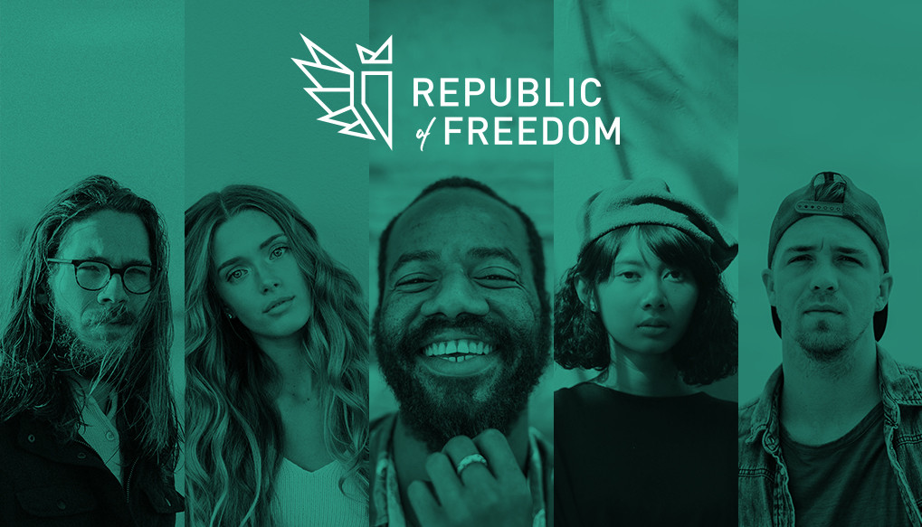 Republic of Freedom Logo