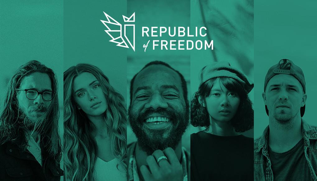 Republic of Freedom Logo